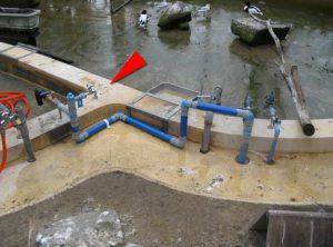 井水栓設置